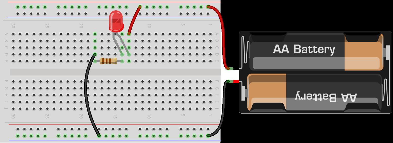 forsog diode 110 ohm